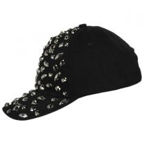 Rhinestone Adjustable Baseball Cap alternate view 3