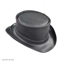 Marlow Leather Top Hat