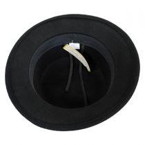 Wool Felt Stingy Brim Bolero Hat in