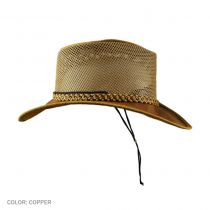Monterey Bay Breeze Leather and Mesh Hat alternate view 18