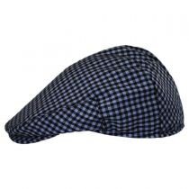 George Wool Gingham Ivy Cap in