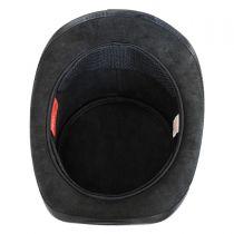 Eyeball Leather Top Hat in