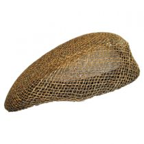 Seagrass Straw Ascot Cap alternate view 7