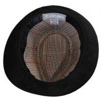 Corduroy Tear Drop Trilby Fedora Hat in