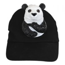3D Panda Snapback Baseball Cap alternate view 2
