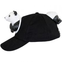 3D Panda Snapback Baseball Cap alternate view 3