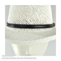 Whipstitch Buckle Hat Band