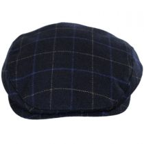 Windowpane Lambswool and Cashmere Earflap Ivy Cap in