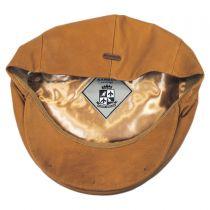 Italian Leather Ivy Cap in