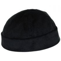 Six Panel Corduroy Skull Cap Beanie Hat alternate view 9