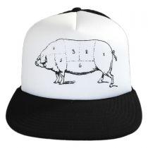 Pork Belly Trucker Snapback Baseball Cap in