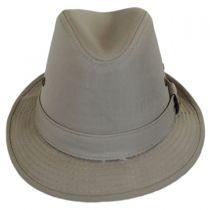 Cotton Rain Trilby Fedora Hat in