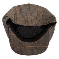 Hoxton Herringbone Plaid Wool Blend Ivy Cap alternate view 8