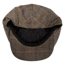 Hoxton Herringbone Plaid Wool Blend Ivy Cap alternate view 12