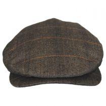 Hoxton Herringbone Plaid Wool Blend Ivy Cap alternate view 14