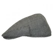 Henry Houndstooth Wool Ivy Cap in