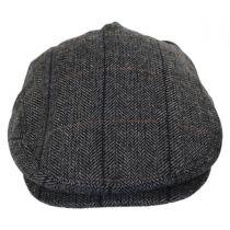 Holborn Herringbone Plaid Wool Blend Ivy Cap alternate view 2