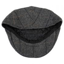 Holborn Herringbone Plaid Wool Blend Ivy Cap alternate view 4