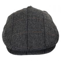 Holborn Herringbone Plaid Wool Blend Ivy Cap alternate view 6