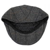 Holborn Herringbone Plaid Wool Blend Ivy Cap alternate view 8