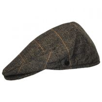 Croydon Herringbone Plaid Wool Blend Ivy Cap alternate view 3