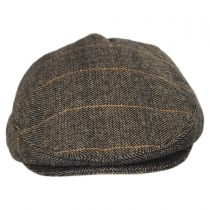 Croydon Herringbone Plaid Wool Blend Ivy Cap alternate view 6