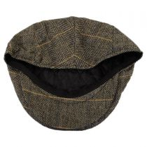 Croydon Herringbone Plaid Wool Blend Ivy Cap