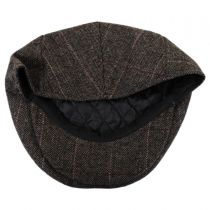 Euston Herringbone Plaid Wool Blend Ivy Cap in