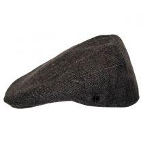 Euston Herringbone Plaid Wool Blend Ivy Cap