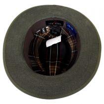 Aspen Italian Cotton Canvas Safari Fedora Hat in