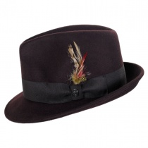 Blues Trilby Crushable Fedora Hat