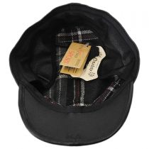 Clarke Earflap Italian Leather Cadet Cap in
