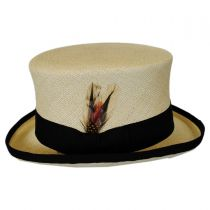 Panama Straw Top Hat in