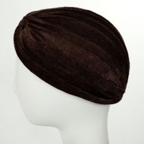 Velvet Poly Turban in