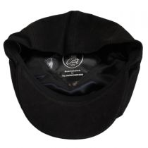 Matte Nappa Leather Newsboy Cap alternate view 36