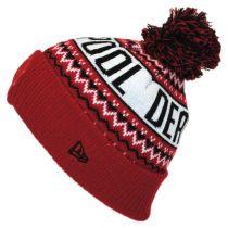 Marvel Comics Deadpool Winter Knit Beanie Hat in