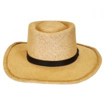 Twisted Panama Straw Gambler Hat alternate view 3
