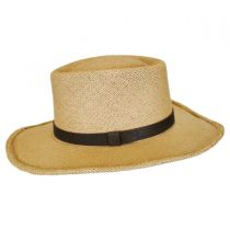 Twisted Panama Straw Gambler Hat alternate view 4