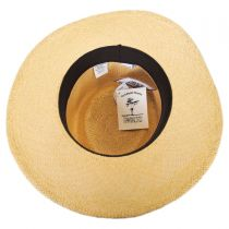 Twisted Panama Straw Gambler Hat alternate view 5