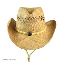 Maggie May Straw Western Hat alternate view 3
