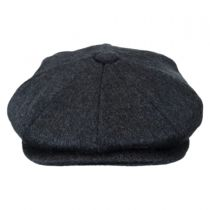 Pure Wool Newsboy Cap in