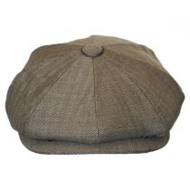 Mini Herringbone Wool Newsboy Cap alternate view 2