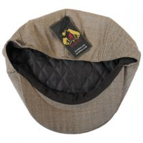Mini Herringbone Wool Newsboy Cap alternate view 4