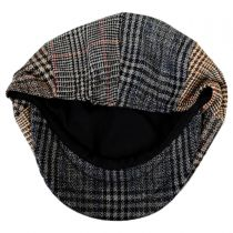 Baby Plaid Patchwork Wool Blend Newsboy Cap in
