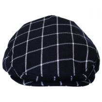 Baby Windowpane Wool Blend Ivy Cap in
