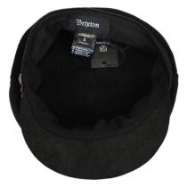 Kayla Leather Suede Fiddler Cap alternate view 4