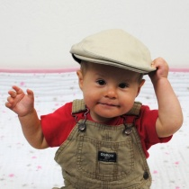 Baby Cotton Ivy Cap in