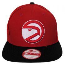 Atlanta Hawks NBA Hardwood Classics 9Fifty Snapback Baseball Cap alternate view 2