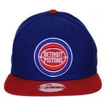 Detroit Pistons NBA Hardwood Classics 9Fifty Snapback Baseball Cap in