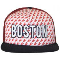Boston Grub Trucker Snapback Baseball Cap alternate view 2